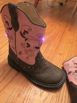 roper-western-boots-13-girls-floral-light-up-child-brown-pink-427959df9e01e3dabb08d455b8101645