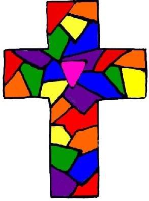 stainedglassrainbowcross